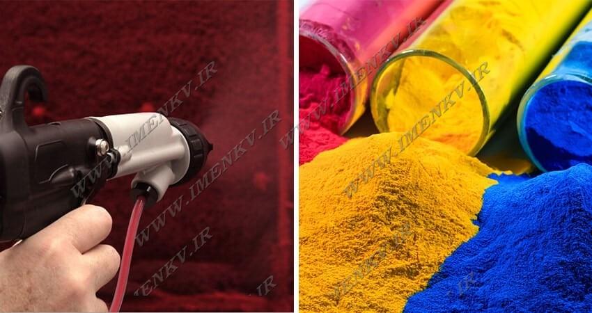 عکس مهمترین مزایای رنگ کوره ای در درب آکاردئونی